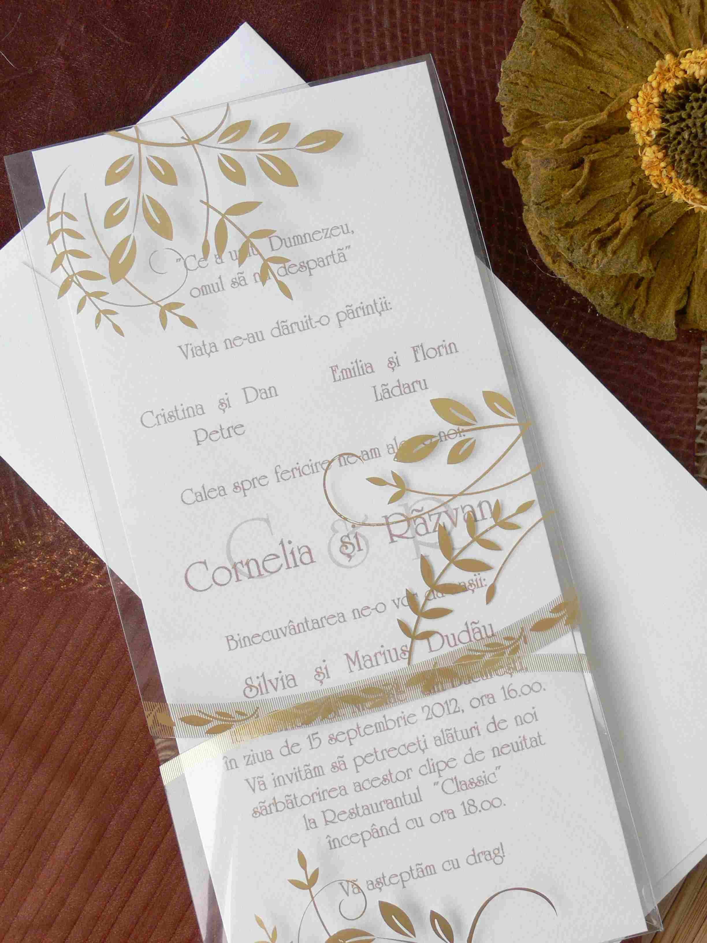 invitatie de nunta 70743