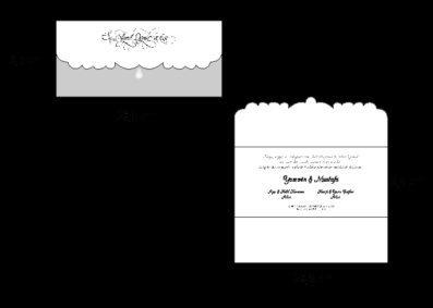 invitatie de nunta 2716