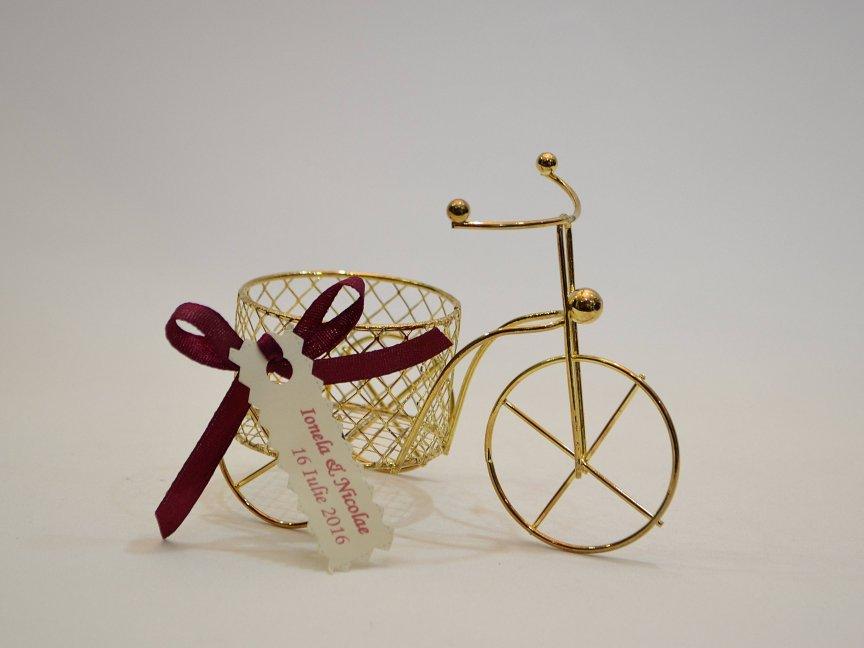 Marturie Nunta Bicicleta Aurie