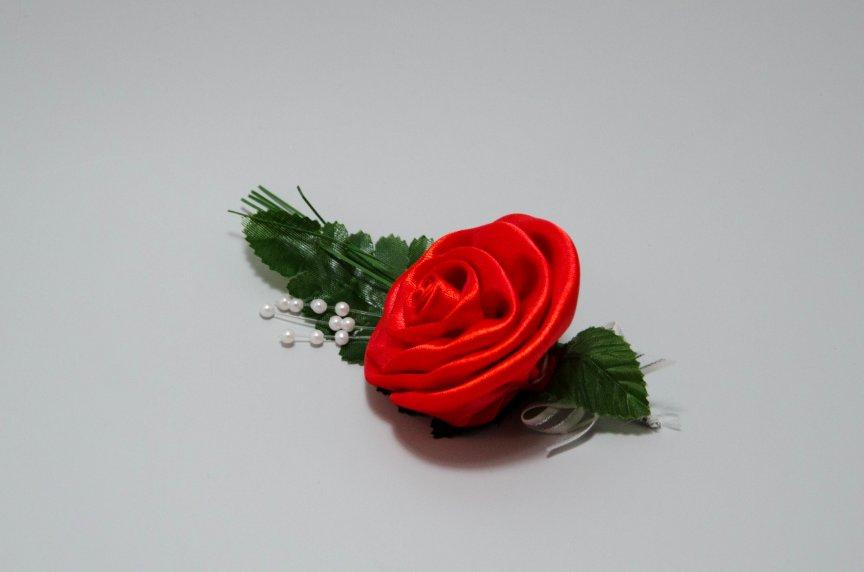 Floare nunta S Rosu