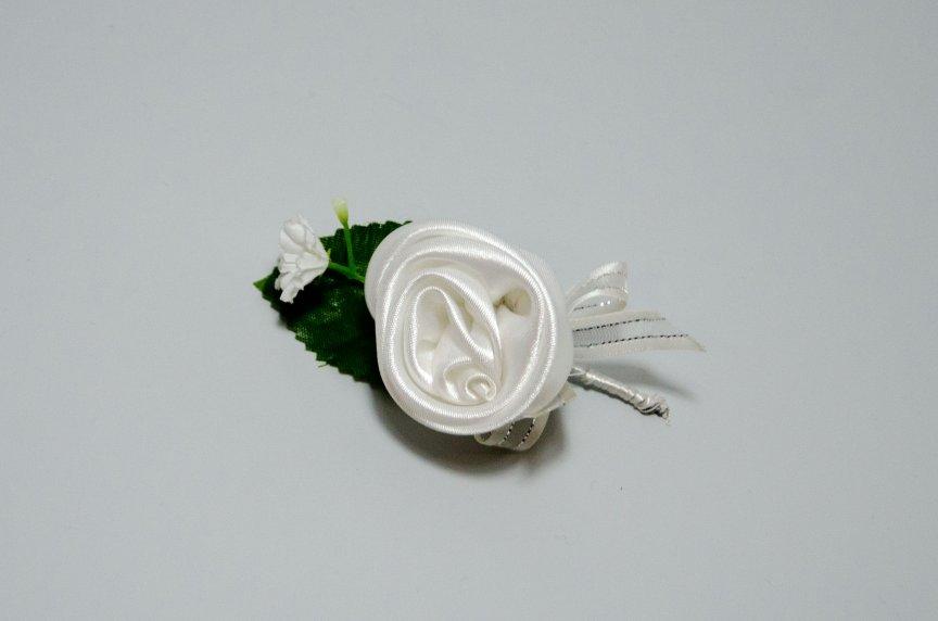 Floare nunta F Alb