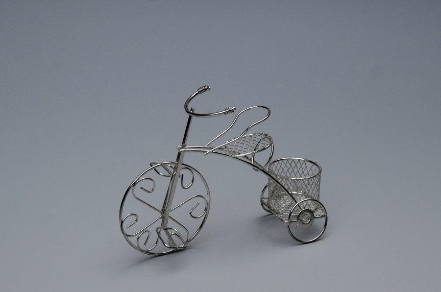 Marturie Bicicleta Argintie