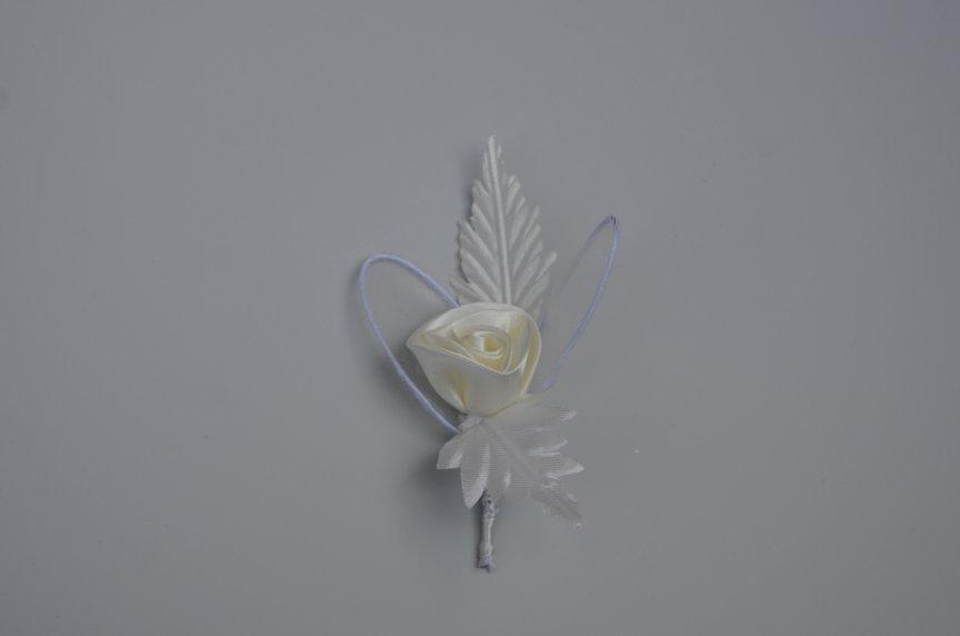 Floare nunta Fx saten Ivory