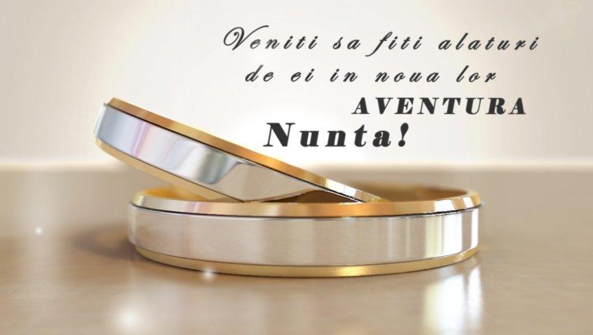 Invitatie Nunta Electronica Rings