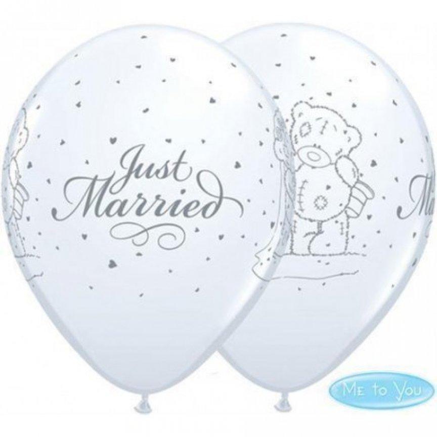 Set Baloane Just Married