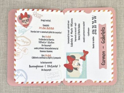 invitatie botez disney 15706