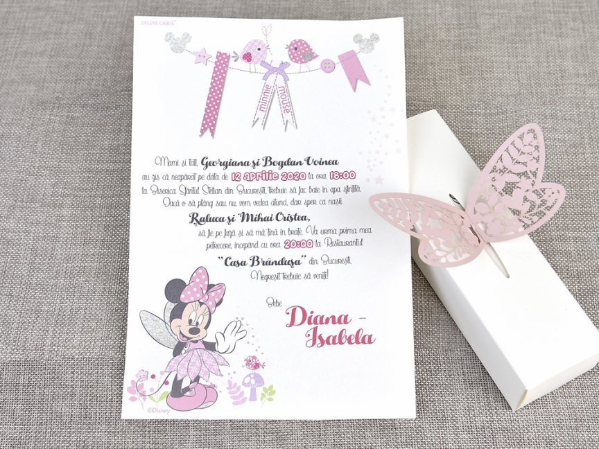 invitatie botez disney 15708