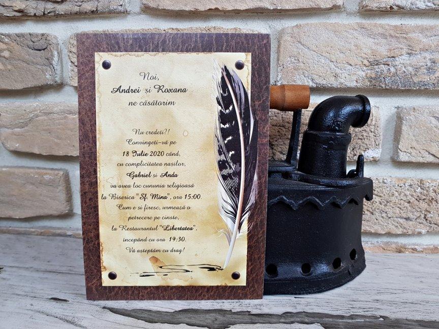 invitatie de nunta 2740