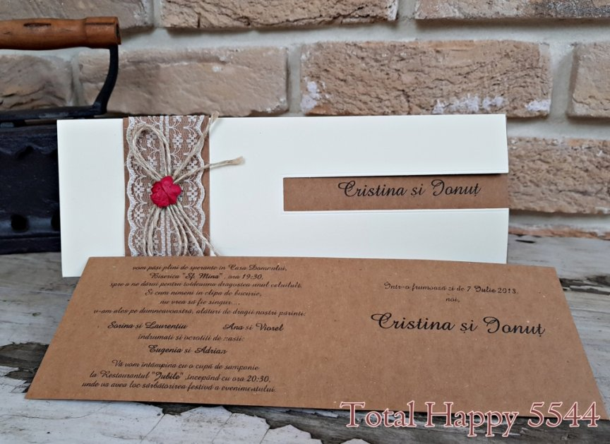 invitatie de nunta 5544