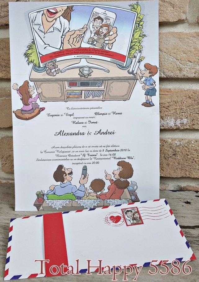 invitatie de nunta 5586