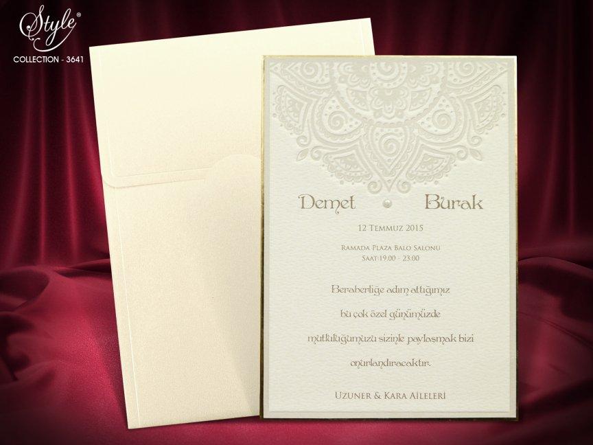 invitatie de nunta 3641