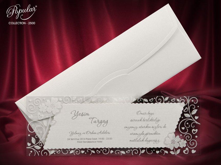 invitatie de nunta  2500